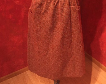 Bad to the Bone 1960s Sears Beatnick Skirt!/ Size-S