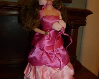 PJ Sweet Roses Barbie Doll  Stunning!