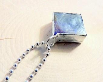 Dark Blue Glass Pendant