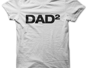 Dad2 (Father of two) t-shirt