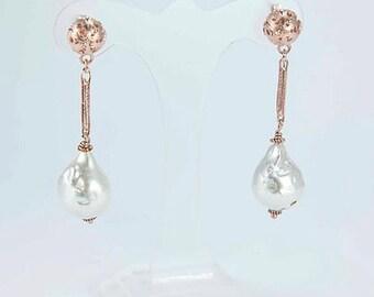 final drops earrings