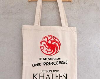 "Tote Bag ""KHALEESI"" - shopping bag"