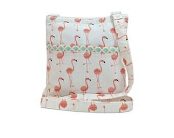 Flamingo XL Crossbody Bag // Sling Bag // Crossbody Purse // Shoulder Bag // Hipster