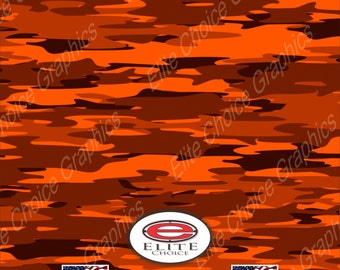 "Inferno 15""x52"" or 24""x52"" Truck/Pattern Print Tree Real Camouflage Sticker Roll or Sheet"