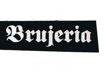 Brujeria Metal Band Patch