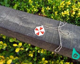 Resident evil in aluminum umbrella symbol