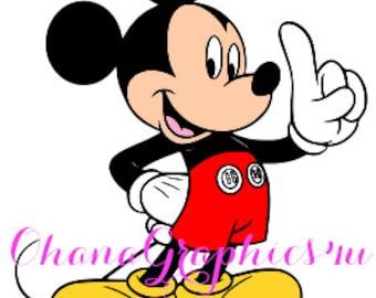 Mickey SVG