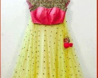 Beautiful designer semi-stitched lehenga for sale.........!!!!!!!!!!!!!!!