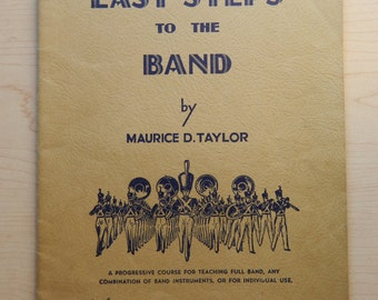 Easy Steps to the Band Vintage Drum Book