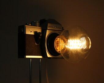 Camera Lamp 'Tall I Am'