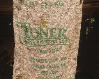 Vintage Burlap Potato Sack