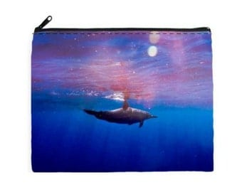 DOLPHIN LOVE - Cosmetic Bag