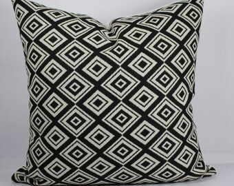 Geometric pillow case cushion black white pillow decorative cushion 18x18 pillow cover outdoor throw cushion covers summer throw pillows