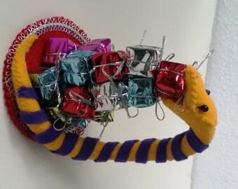 Handmade Whimsical Snake
