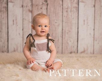 SITTER ROMPER PATTERN -  Sewing Sitter Pattern , Carson/McKenzie Romper (Boy or Girl)