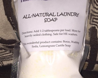 All-Natural Laundry Soap 16oz