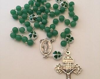Irish Shamrock Rosary