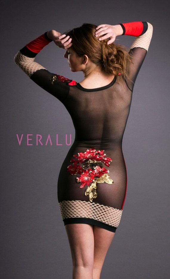 VERALU Garden of Eve (red) dress