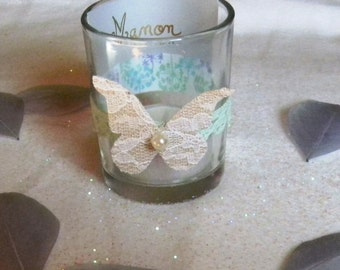 Door name Butterfly Tealight holder