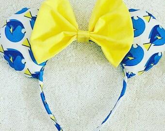 Just Keep Swimming Minnie Ears