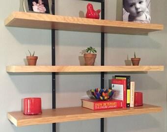 Adjustable Floating Shelves