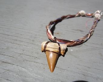 Braided Shark Tooth