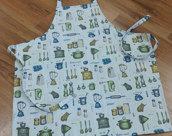 Kitchen Apron, Men's Apron, Women's Apron, Teenagers Apron, Kitchen Apron, Cooking Apron, Hostess Apron, Chefs Apron, Mother's Apron