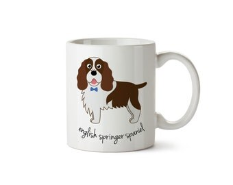 English Springer Spaniel Mug (boy)