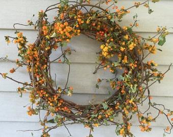 """12"""" Bittersweet Vine Wreath"""