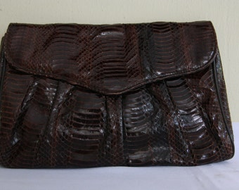 Chocolate Brown Vintage Purse