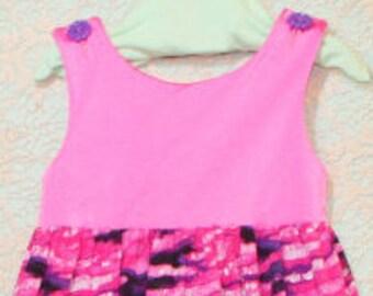 Girls summer dress, Girls hot pink dress, Girls pink dress, Girls clothing, Girls Size 2, Girls Size 6, Girls sundress, Trendy kids, Beach