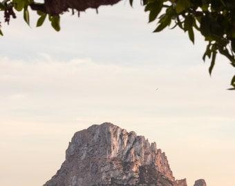 Ibiza, Spain, Es Vedra, Island, Sail Boat, Sunset, Rocks, Landscape, Nature, Beach, Fine Art, Photograph, Wall Art, Print, Travel