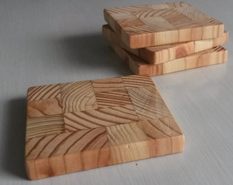 Coasters - Made From Recycled Pallets