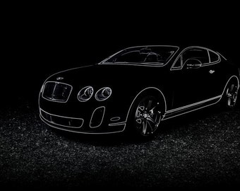 Bentley Continental GT Supersports Poster - 4 sizes
