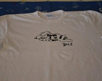 White T-shirt Graffitti