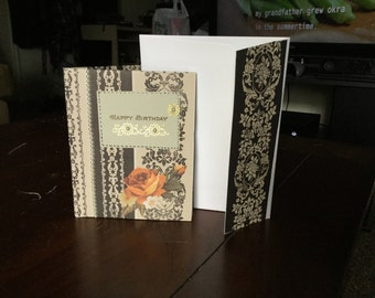 Birthday Card with Matching Envelope
