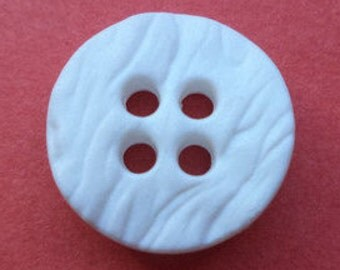 10 small buttons white 12mm 14mm 16mm 18mm (2035 5935 5936 5931) button