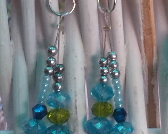 Water sunset earrings