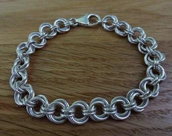 Sterling Silver Twisted Bracelet