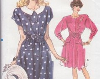UNCUT Very Easy Misses' Vogue 7212 Dress Pattern Size 14-16-18