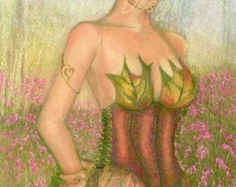 Adriel Woodland Elf Pink Grass