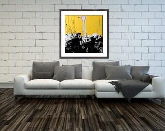 Ostrich, Savannah Art, Savannah Print, Large Wall Art, Safari, Wall Decor, Wall art, Wall Art Print, Original Art Work, Animal Print, #522OS