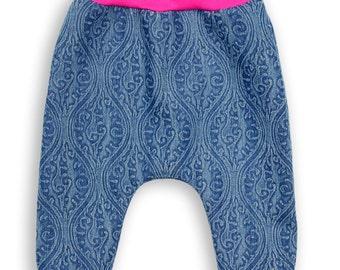 Art Denim Baby Trousers