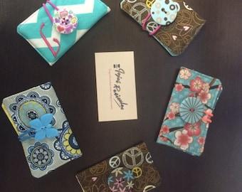 Business Card Holder, Gift card holder, credit card wallet