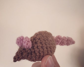 Little Crochet Catnip Mouse