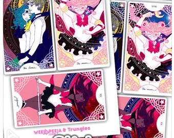 Sailor Senshi Tarot - Sticker Sheet