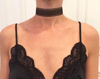 Black Sage - mesh choker