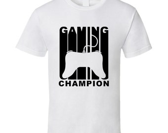 Vintage Style Gaming Champion Retro Gamer T-shirt