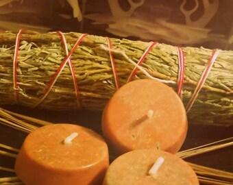 "Cedar and Sage ""Anger Begone"" oil infused candles"