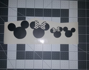 Mouse Family Decal/Sticker